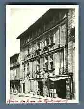 France, Carcassonne (Aude), Maison des Ducs de Montmorency  Vintage silver print