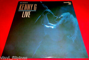 MADE IN U.S.A.:KENNY G. - Kenny G Live, LASER DISC,LD,RARE,includes Silhouette,