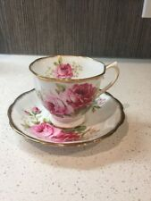 Royal Albert American beauty Tea Cup Fine Bone China