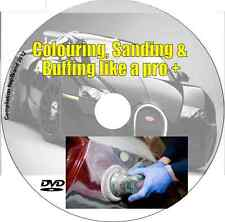 Auto Training DVD guide Learn Car Paint Colouring Sanding Buffing  Like a Pro