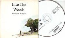 MALCOLM MIDDLETON Into The Woods 2005 UK 12-track promo CD Arab Strap