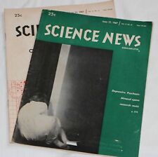 Science News - June 17, & 24, 1967