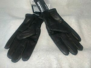 New Women's Genuine Leather Winter Warm Gloves 3M Thinsulate Insulated Gloves S
