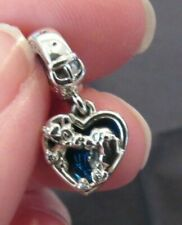 AUTHENTIC Pandora Disney Lady and the Tramp Heart & Collar Buckle Charm