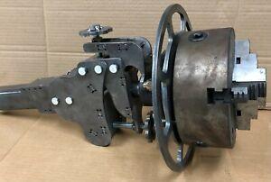 "DIY Welding Positioner (Roll-out wheel) 1/4"" Steel, 3 positions, leveler, brake"