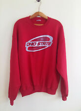 Vintage Jerzees Ohio State Buckeys 2003 Sweatshirt Red Mens Size: L