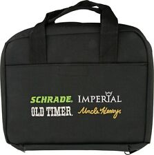 SCHRADE KNIFE PACK - HOLDS UP TO 18 KNIVES - BLACK NYLON CONSTRUCTION