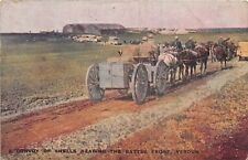 POSTCARD  MILITARY  WWI  VERDUN  Convoy  of  Shells  nearing  the  Battle  Front