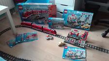 LEGO City treno eurostar stazione della città 7937 e 7938 + binari scambi extra