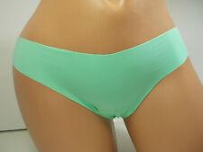 Betsey Johnson Vanishing Edge Green Thong Panty, Size L #J2933RS