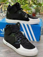Adidas C-10 J Unisex Black White adirise hackmore Loop Shoes C75460 Sz 6 7