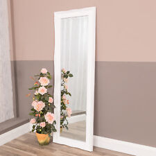 Tall White Slim Mirror French Chic Roccoco Full Length Bedroom Living 150 X 50cm