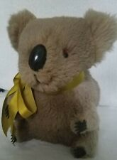 Vintage Koala Bear Possibly Made From Rabbit Fur 6.5� Kids Toy