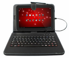 Premium Quality French AZERTY Keyboard Folding Folio Case for Toshiba Excite 10