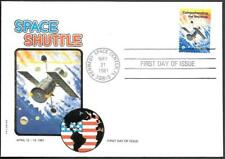 US Space FDC Cover 1981. Shuttle Columbia STS-1. Philswiss ##05