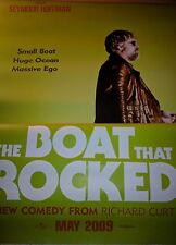 Cinema Banner: The BOAT THAT ROCKED 2009 (The Count) Philip Seymour Hoffman Used