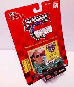 RACING CHAMPIONS 50th ANNIVERSARY #33 NASCAR KEN SCHRADER 1:64 SCALE WITH CARD