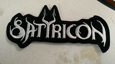 SATYRICON EMBROIDERED PATCH Black Metal USA Seller fast delivery