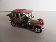 933H Matchbox Rolls-Royce 1912 Marrón Modelo Yesteryear