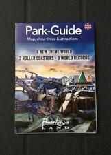 Phantasialand 2017 Theme Park Map Roller Coaster Amusement