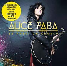Paba Alice - Se Fossi Un Angelo  -  Sanremo 2017 CD Nuovo Sigillato