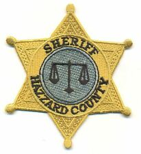 DUKES OF HAZZARD SHERIFF BADGE PATCH  - DOH1