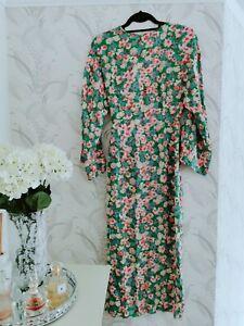 Zara Floral Printed Midi Dress Size XS BNWT