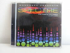 CD ALBUM Manasseh Presents SPECTRE The missing two weeks ECHO BEACH 024