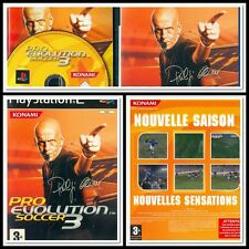 PRO EVOLUTION SOCCER 3 JEU CONSOLE PLAYSTATION 2 COMPLET PAL FR