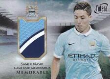 2016-17 Manchester City Futera Unique Memorabilia #MEM11 Samir Nasri