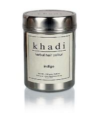 Khadi Natural Herbal Indigo Hair Colour between blue and voilet 150 GM
