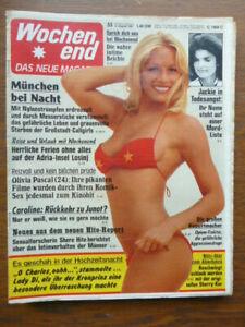 Revue Heft Wo. 1981/33, vom 06.08.1981, Olivia Pascal