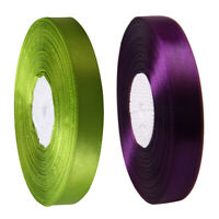 100 Yard Polyester Ribbon Roll For Crafting Diy Gift Wrapping Wedding Decor Cand