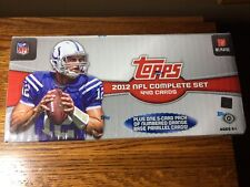2012 topps football factory set Sealed With 5 Orange Numbered Parallel Cards