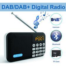 Portable AM/FM Radio Pocket Mini DAB/DAB+ Digital Radio Bluetooth Speaker Player