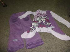 NAARTJIE M 5 YRS PURPLE  FLORAL SHIRT PANT SET