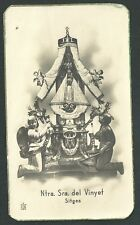 Estampa antigua Virgen del Vinyet andachtsbild santino holy card santini