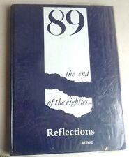 YEARBOOK1989 REFLECTIONS ST.ANSGAR HIGH SCHOOL IOWA MICHAEL JACKSON REAGAN NORIE