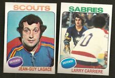 1975-76 Topps Hockey Finish Your Set Lot Pick 25 Cards NM Condition