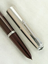 VINTAGE DATE CODED 1951 PARKER 51 SPECIAL FOUNTAIN PEN ~ SMOOTH WRITER ~RESTORED