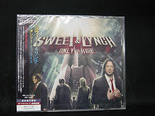 SWEET & LYNCH Only To Rise + 1 JAPAN CD Stryper Dokken Megadeth Whitesnake