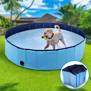 Dog Pool Foldable Dog Swimming Pool Pet Bath Swimming Tub Bathtub Pet Swimming