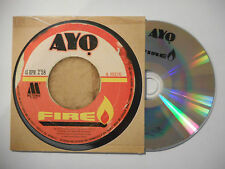 AYO : FIRE ♦ CD SINGLE PORT GRATUIT ♦