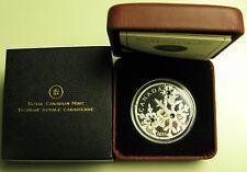 2011 Proof $20 Montana Crystal Snowflake Canada .9999 silver twenty dollars