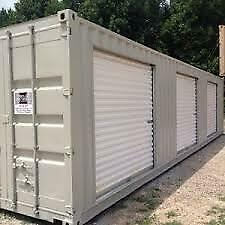 Best Ever 7' x 7' Roll-up Door for Sea cans or Sheds