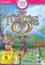 PC CD-ROM + Die Türme von Oz + Tower-Defense Game + Abenteuer + NEU + Win 8