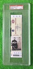 PSA 7 GEORGES VEZINA HOCKEY TICKET (Full Unused) Canadiens 100th Anniversary