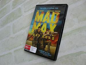 MAD MAX - FURY ROAD - REGION 4 PAL DVD