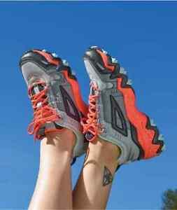 FILA Oakmont Trail Hiking Shoes Women's Size 7 $75 Coral