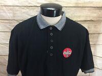 Vintage Vantage Coca-Colo Polo Shirt Black Men's XL Made in USA